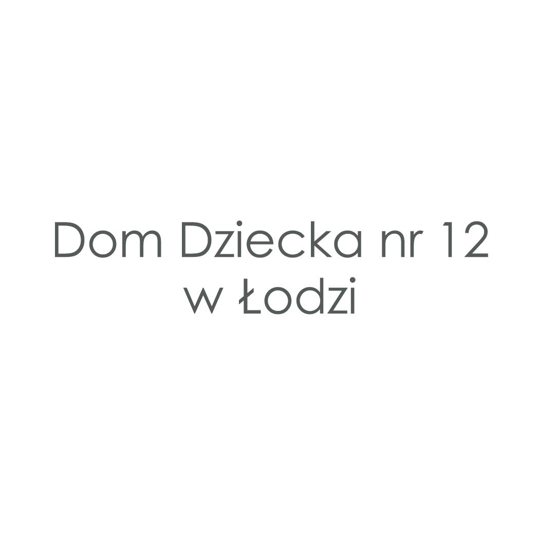 Dom Dziecka nr 12 w Łodzi
