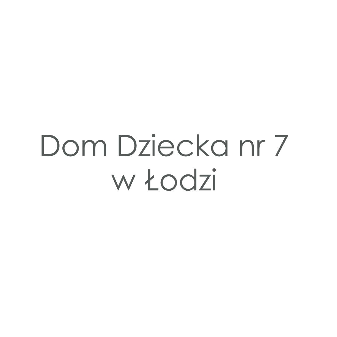 Dom Dziecka nr 7 im. Stefana Żeromskiego w Łodzi